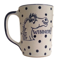 14 oz Dots Derby mug