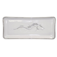 "14"" Debossed Unbridled Spirit Tray"