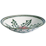 "15"" Flared Bowl in Holly Graffiti"