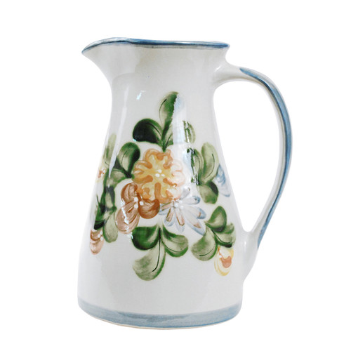 2 1/2 Qt Pitcher in Country Flower Blue