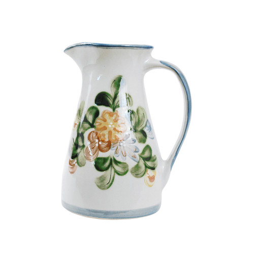 1 1/2 Qt Pitcher in Country Flower Blue