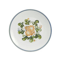 "8"" Thin Plate in Country Flower"