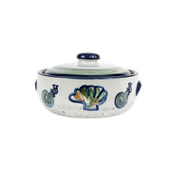 1 Qt Casserole & Cover in Sea Life
