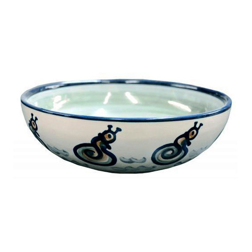 "11"" Serving Bowl in Sea Life"