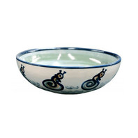 "9"" Serving Bowl in Sea Life"