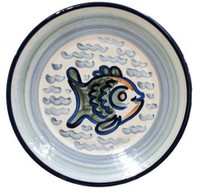 "16"" Round Platter in Sea Life"