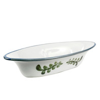 "15.5"" Small Soirée Bowl in Country Flower Blue"