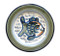 """11"""" Rimmed Plate in Sea Life"""