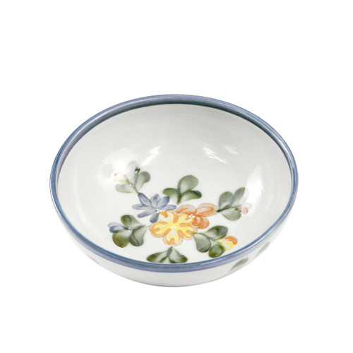 """9"""" Serving Bowl in Country Flower Blue"""