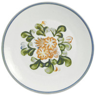 "16"" Round Platter in Country Flower Blue"