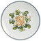 """16"""" Round Platter in Country Flower Blue"""