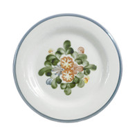 "11"" Rimmed Plate in Country Flower"