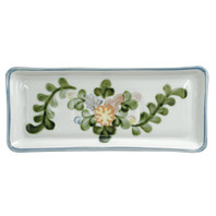 "14"" Long Rectangular Tray in Country Flower"