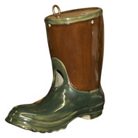 "8"" Garden Boot Birdhouse, The Jon Carloftis Collection"