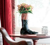 """8.5"""" Racing Boot Vase"""