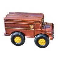 UPS Truck Bank