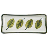 "14"" Long Rectangular Tray in Augusta"