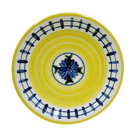 "11"" Rimmed Plate in Brooke"