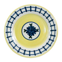 "9"" Rimmed Plate in Brooke"