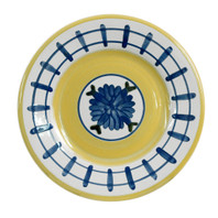 "8"" Rimmed Plate in Brooke"