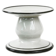 Medium Cake Stand in Bell Black