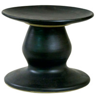 Small Cake Stand in Bell Black