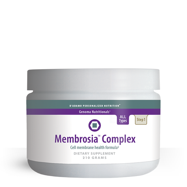 Membrosia Complex is a unique blend of the cellular-supporting nutrients lecithin, trehalose and uridine, a powerful formula that supports health aging and nerve health.
