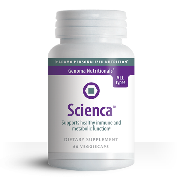 Scienca contains turmeric, a well known, powerful Ayurvedic antioxidant which supports joint comfort and the body's natural regenerative mechanisms.