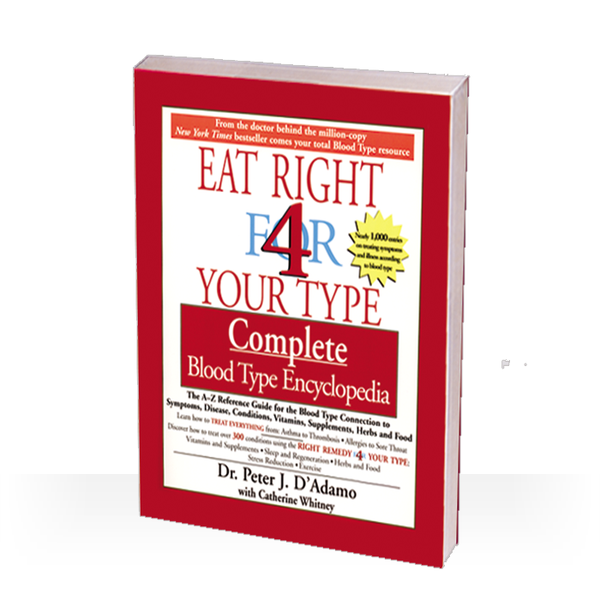 Dr. Peter J. D'Adamo has established himself as the world's most popular and respected authority on the connection between blood type and eating, cooking, healing, and living. His first three books created an international phenomenon.