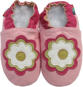 shoeszoo jasmine pink 0-6m S new soft sole leather baby shoes