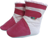 shoeszoo booties fuchsia pink 0-6m S soft sole leather baby shoes