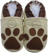 carozoo paw cream 0-6m soft sole leather baby shoes