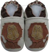 carozoo lion king 12-18m soft sole leather baby shoes