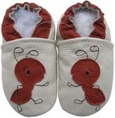 carozoo ants cream 0-6m soft sole leather infant baby shoes slippers