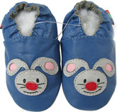 shoeszoo rabbit  blue 0-6m S new soft sole leather baby shoes