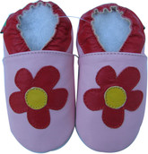 shoeszoo daisy pink 0-6m S new soft sole leather baby shoes