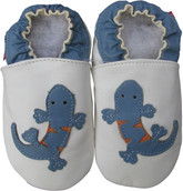 shoeszoo gecko white 18-24m S new soft sole leather baby shoes