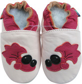 Shoeszoo goldfish light pink 0-6m S soft sole leather baby shoes