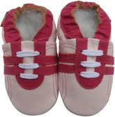 shoeszoo sports fuchsia pink 0-6m S soft sole leather baby shoes