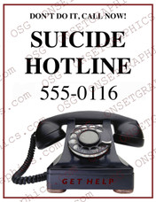 Suicide Hotline Flyer