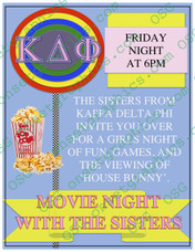 Sorority Movie Night