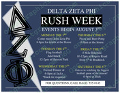 Fraternity Rush Week