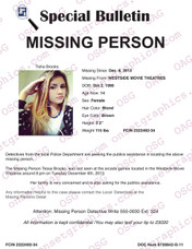Missing Teen Female