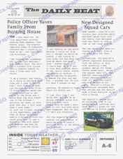 POLICE NEWSPAPER