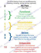 PAIN CHART 1