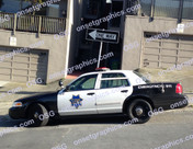 SAN FRANCISCO POLICE CAR