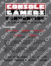 Gamer Convention Flyer