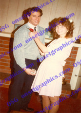 1980's Cute Couple Pre Dance