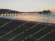 Malibu Beach Pier Sunrise