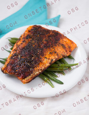 Blackened Salmon  MDFK
